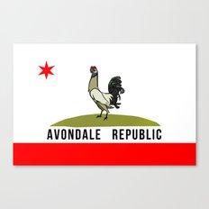 Avondale Republic Canvas Print