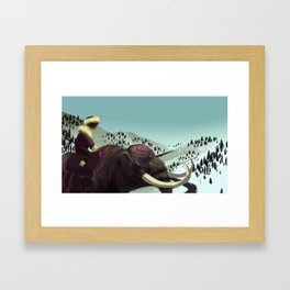 Mastodon Framed Art Print