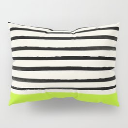 Electric Pineapple x Stripes Pillow Sham