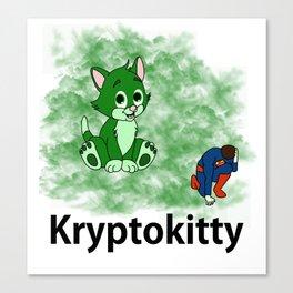 Kryptoktty Canvas Print