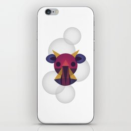 Vaca Burbuja iPhone Skin