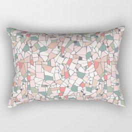 Head over feet (in pastel tones) Rectangular Pillow