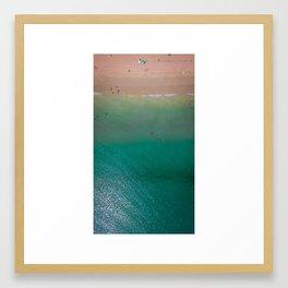 JENSEN BEACH VIBES Framed Art Print