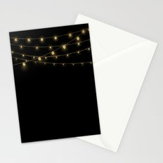 Gold rich Glitter Chain- Treasure Sparkle Stationery Cards