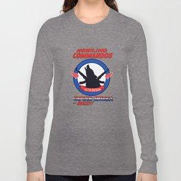 Howling Commandos CAP&BUCKY Long Sleeve T-shirt