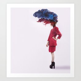 Fashion Bomb Art Print