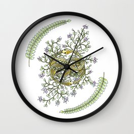 Neverending Story Inspired Auryn Garden Wall Clock