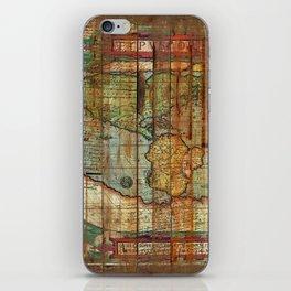 Antique World iPhone Skin