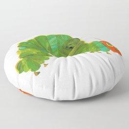 Cute The Very Hungry Caterpillar Floor Pillow