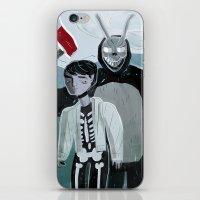 donnie darko iPhone & iPod Skins featuring Donnie Darko and Frank by AdamAddams