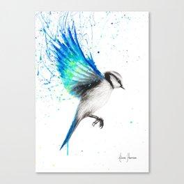 Tropical Oasis Bird Canvas Print