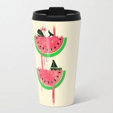 Watermelon falls Final Travel Mug