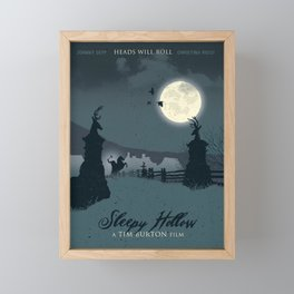 Sleepy Hollow art movie Framed Mini Art Print