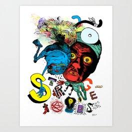 Strangetales Art Print