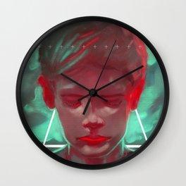 Indigo child Wall Clock