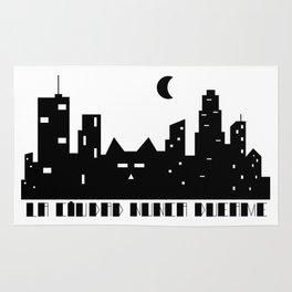 La ciudad nunca duerme Rug