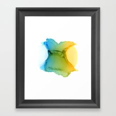 33 Framed Art Print
