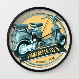 LAMBRETTA 125 B Wall Clock