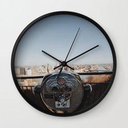 Grandview Overlook Wall Clock
