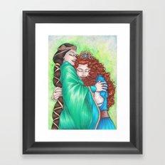 Merida and Elinor Framed Art Print