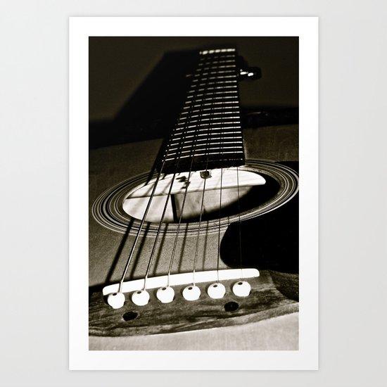 """Play My Song Art Print"