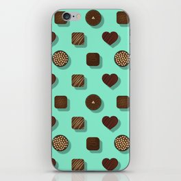 Box of Chocolates Pattern iPhone Skin