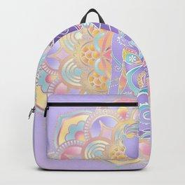 Pastel Cultural Girl Backpack