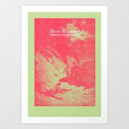 Doré Homme - Cain kills Abel Art Print