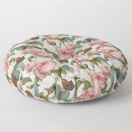 Roses Nostalgie Floor Pillow