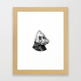 Hound's Hood Framed Art Print
