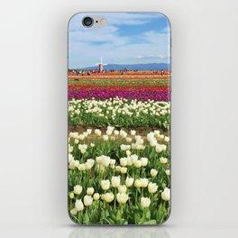 Woodburn Tulips iPhone Skin