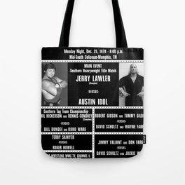 #5-B Memphis Wrestling Window Card Tote Bag