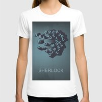 sherlock holmes T-shirts featuring Sherlock Holmes by HomePosters