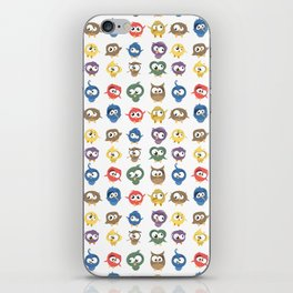 Ugly Birds iPhone Skin