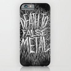 FALSE METAL iPhone 6s Slim Case