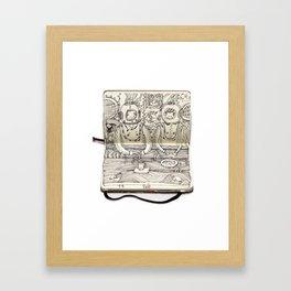 The Last Supper (Divers) Framed Art Print