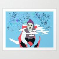 Parker pka Dumbfoundead  Art Print