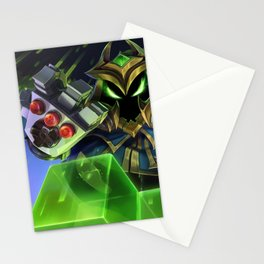 Final Boss Veigar League Of Legends Stationery Cards