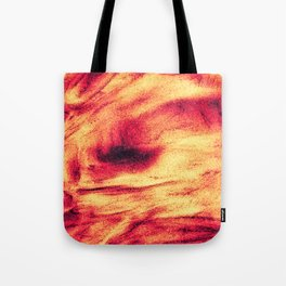 Fire Explosion Tote Bag