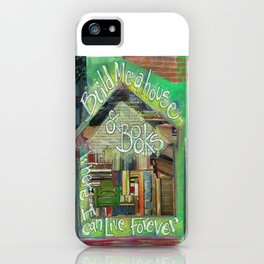 House of Books iPhone Case