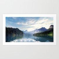 Wanderlust - Mountains, Lake, Forest Art Print