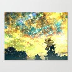 Stirring Starry Night Canvas Print