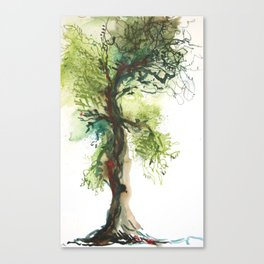 Rowan Oak Tree Canvas Print
