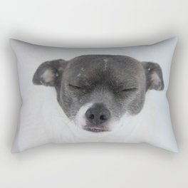 Tonto in the Snow Rectangular Pillow