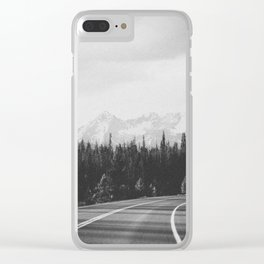 ON THE ROAD XXVI Clear iPhone Case