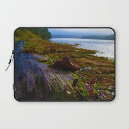 Ucluelet Inlet on an early fall morning Laptop Sleeve