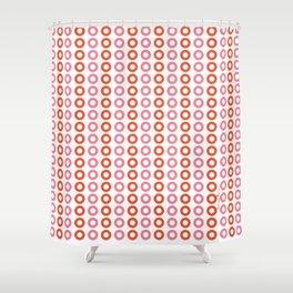 Rose Orange 01 Shower Curtain
