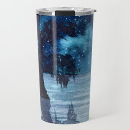 """Louisiana swamp"" galaxy watercolor painting Travel Mug"