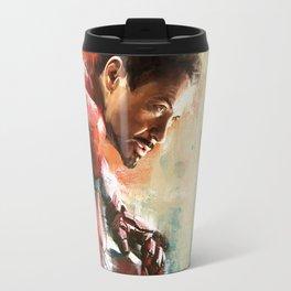 The man of Iron Travel Mug
