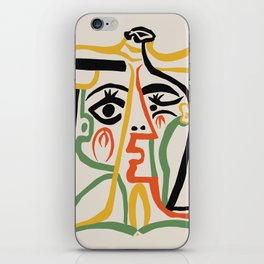 Picasso - Woman's head #1 iPhone Skin